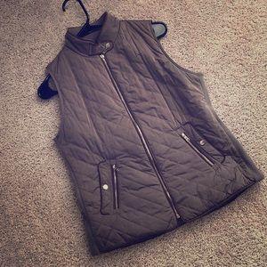 Zara Womens Quilted Vest